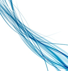 Speed soft smooth abstract blue rapid wave vector