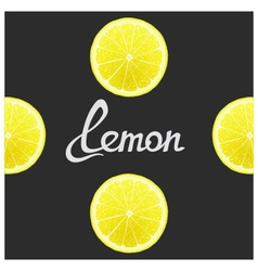 Funny of lemon vector