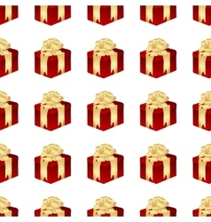 Gifts seamless isolated vector