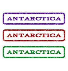 Antarctica watermark stamp vector