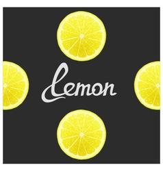 Funny of lemon vector