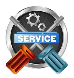 Service symbol tool vector
