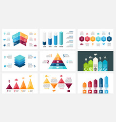arrows infographic diagram chart graph vector image