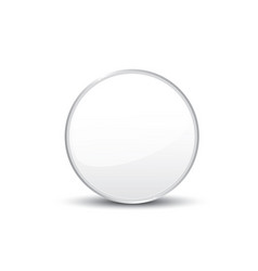 Circle on white background vector