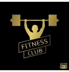 Fitness club vector image vector image