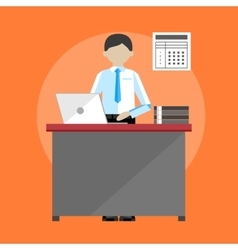 Project management business multitasking concept vector