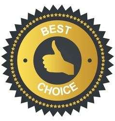 Best choice golden label vector