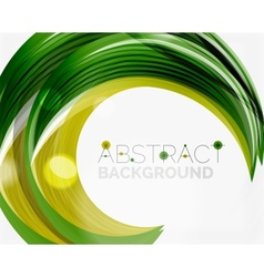 Swirl line abstract background vector