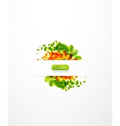 autumn spring vector image vector image