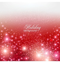Elegant Christmas background with snowflakes and vector image vector image