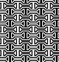 Black and white horizontal bolts vector