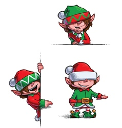 Elves 1 vector image