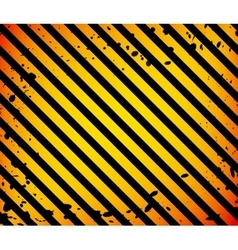 Grunge black and orange surface as warning or vector