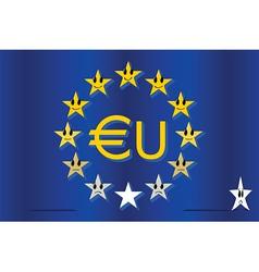 european hierarchy vector image vector image