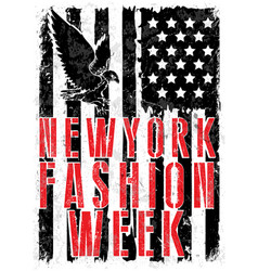 New york fashion typography t-shirt graphics vector