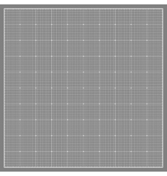 Square grid background vector