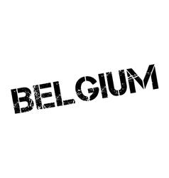 Belgium rubber stamp vector