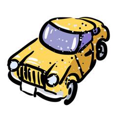 Cartoon image of car icon automobile symbol vector