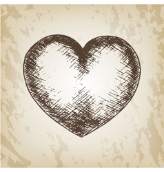 Hand drawn Valentine day - vector image vector image