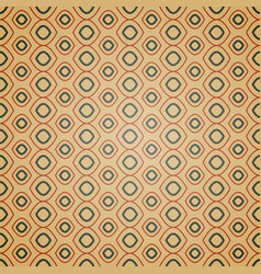 seamless geometric pattern on brown background vector image vector image