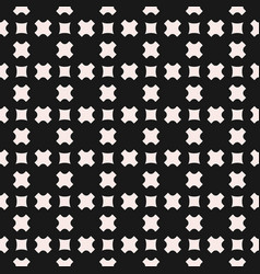 seamless pattern geometric texture with crosses vector image vector image