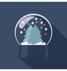Snow Globe icon vector image vector image