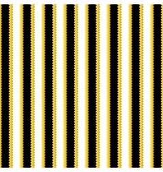 Yellow black and white stripes geometrical vector