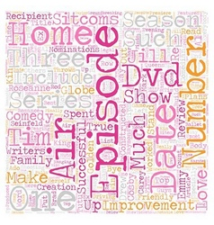 Home improvement season 2 dvd review text vector