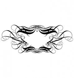 titling frame vector image
