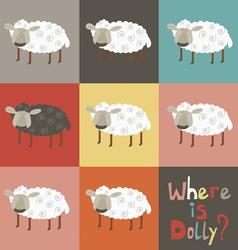Where is dolly sheep vector