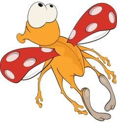 Ladybird from a fairy tale artoon vector image