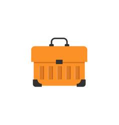 tool box flat icon build repair elements vector image