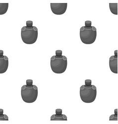 Jar with water in the caseafrican safari single vector