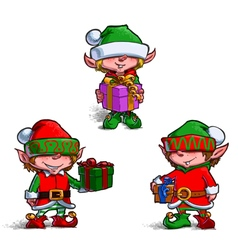 Elves 2 vector image