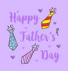Happy father day design background vector