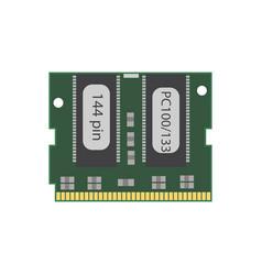 Ram 144 pc 100 vector