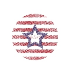 United states of america emblem vector