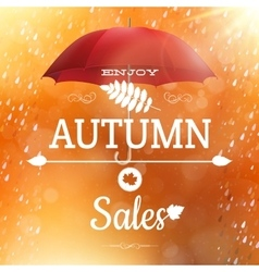 Autumn sale backdrop eps 10 vector