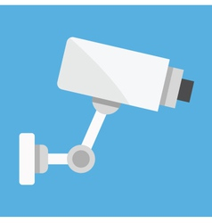 CCTV Video Surveillance Camera vector image