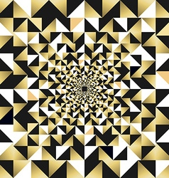 Gold seamless pattern abstract background vector image vector image
