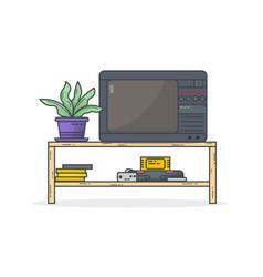 retro console games vector image