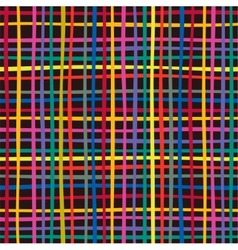 Seamless colorful checkered pattern vector