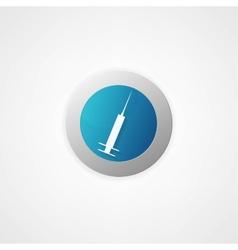 syringe icon vector image
