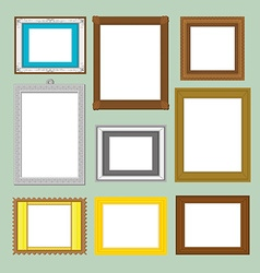 Frame card design vector