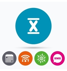 Roman numeral ten icon roman number ten sign vector
