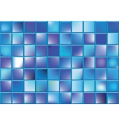 blue blocks vector image vector image