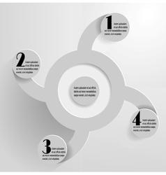 Circular abstract vector