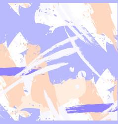 Easy brushstroke pattern in pastel colors vector