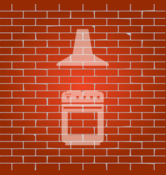 Electric or gas stove and extractor kitchen hood vector