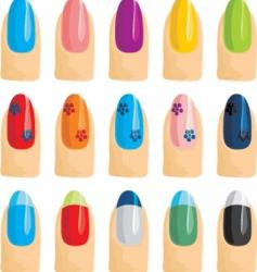 nail vector image vector image